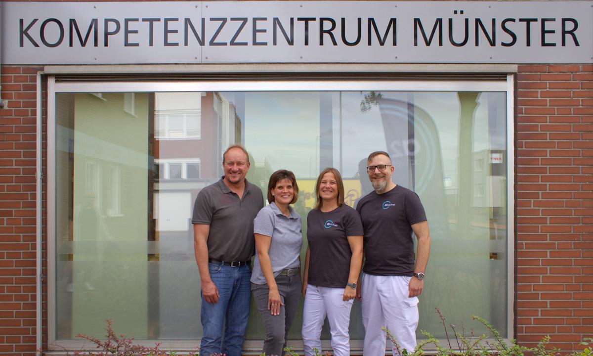 Das Team vom Kompetenzzentrum Münster